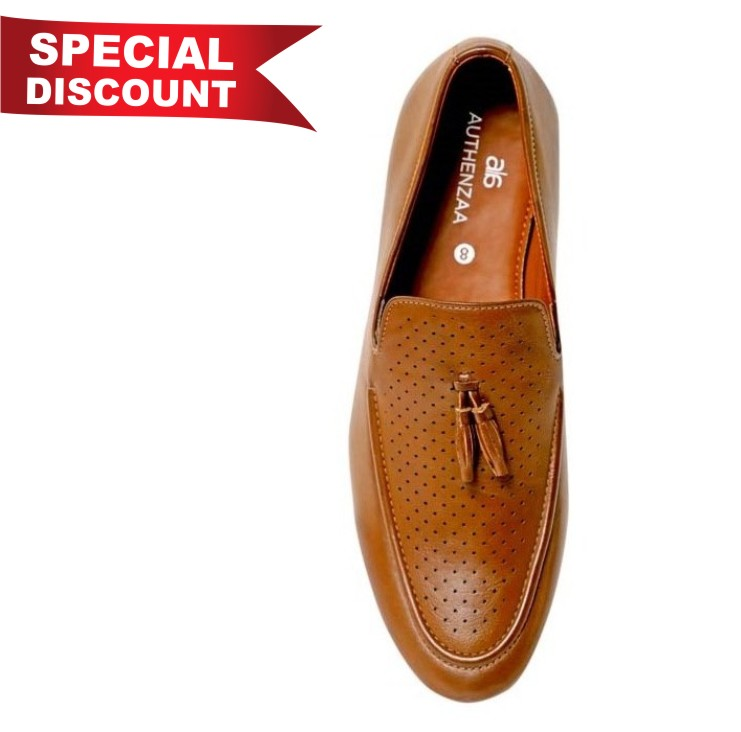GR 25-BROWN MEN'S FORMAL SHOES