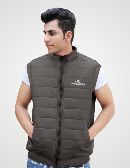 MSJK MI5 04-MAHENDI SLEEVELESS WINTER JACKET