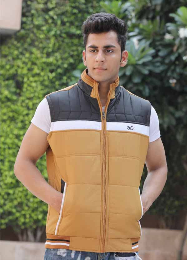 MSJK MI5 05-TAN SLEEVELESS WINTER JACKET