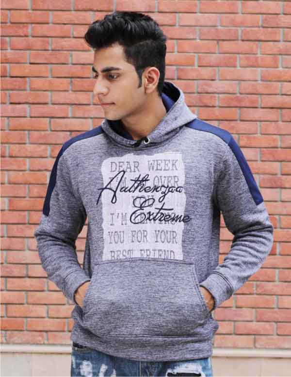 SWEAT SHIRT-Navy-MSS DW 32