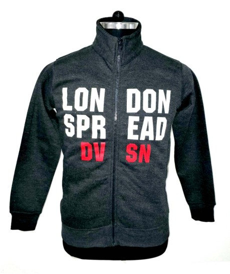 MSS DW024 - Charcoal Milange  Sweat Shirt