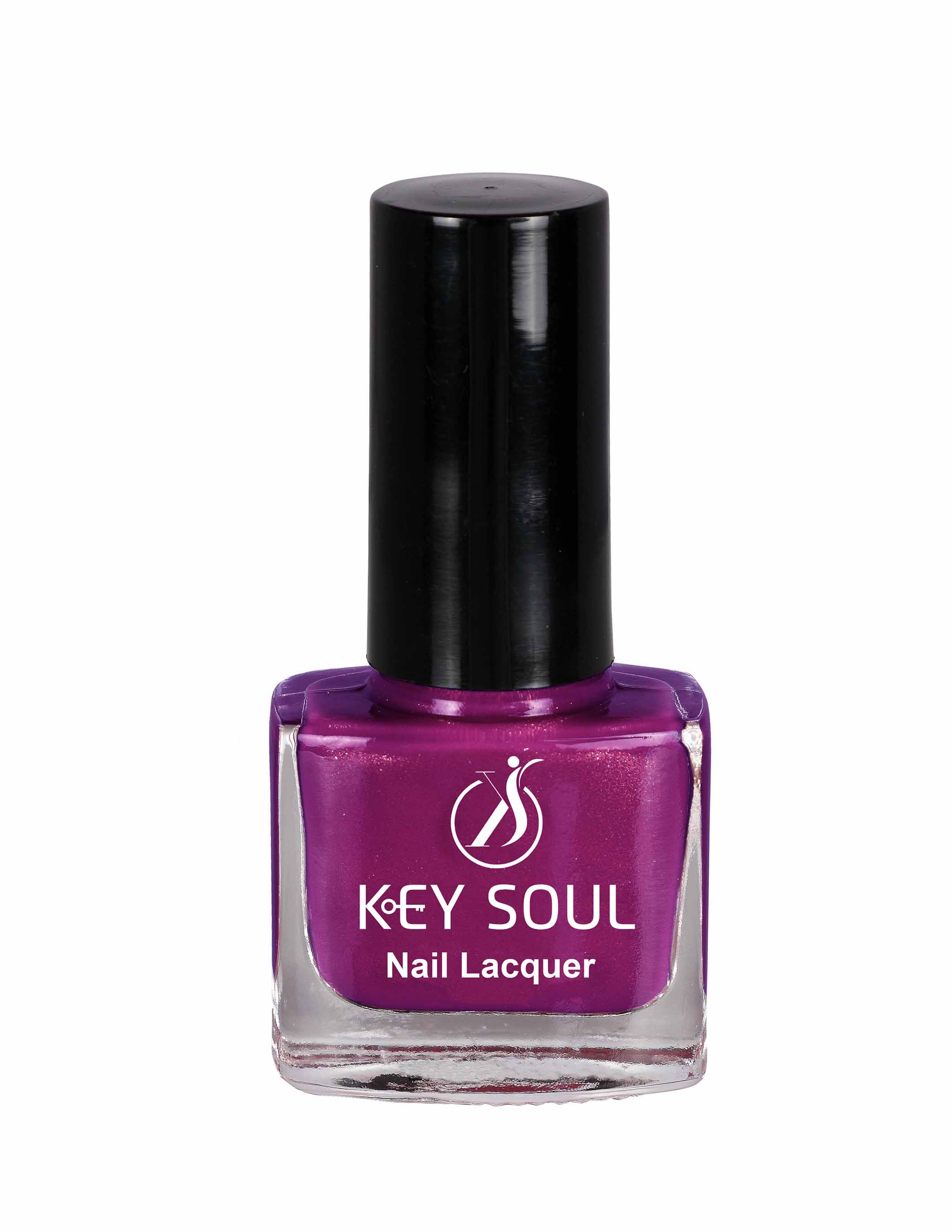 Keysoul Magenta Passion Nail Paint