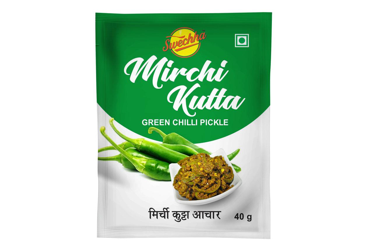 Swechha Mirchi Kutta Pickle(40g)