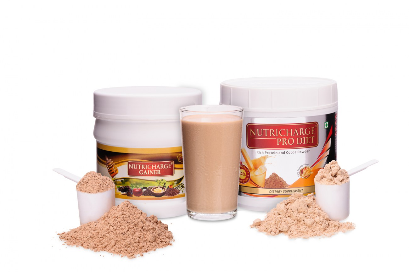 Nutricharge Gainer and ProDiet