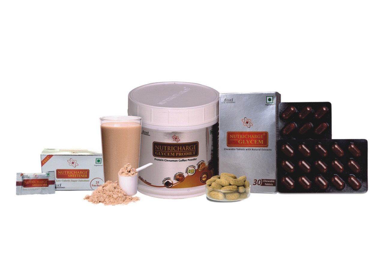 Nutricharge Glycem ProDiet and Tablet