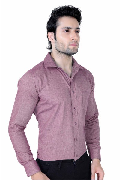 NE Series A/C - A2 Magenta Formal Shirt