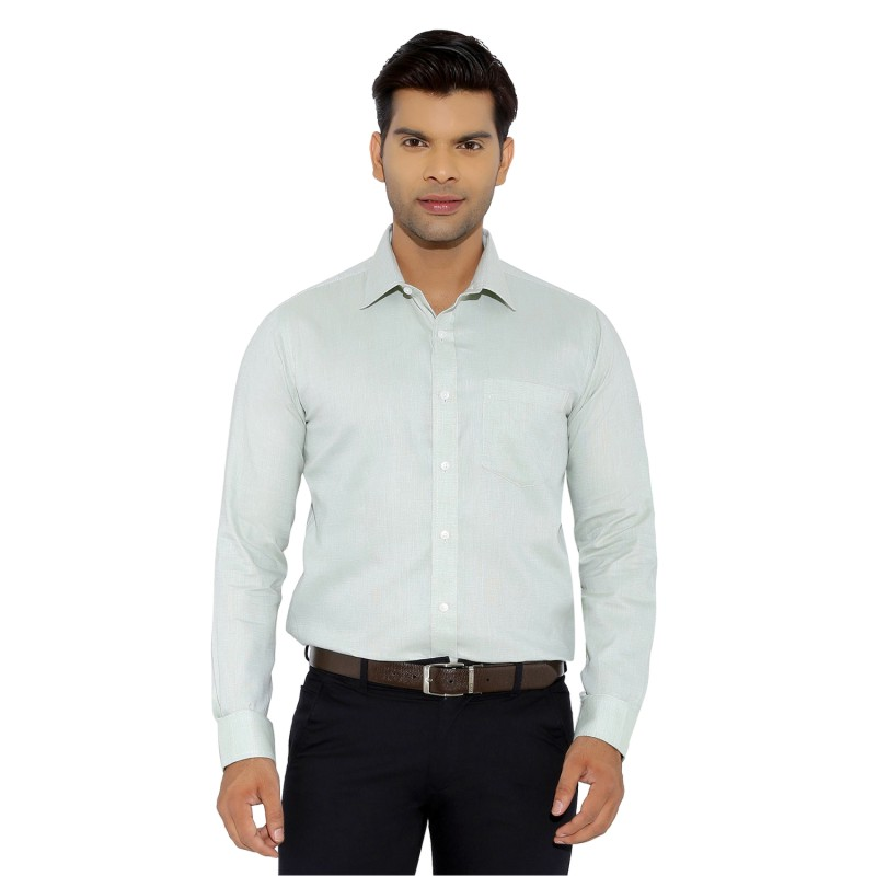 NEELA 257 - Light Green Formal Shirt