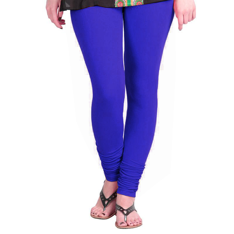 WL OLIVIA 01-ROYAL BLUE PLAIN LEGGING