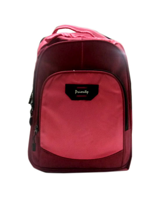 HS VALENTEENO 01-MAROON/PINK Backpack Bag