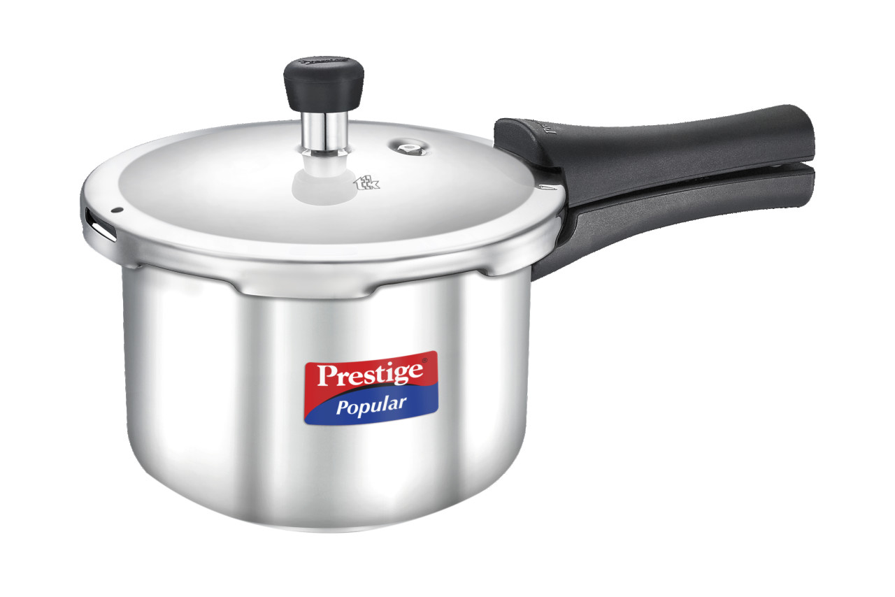 Stainless steel prestige popular 3 ltr cooker