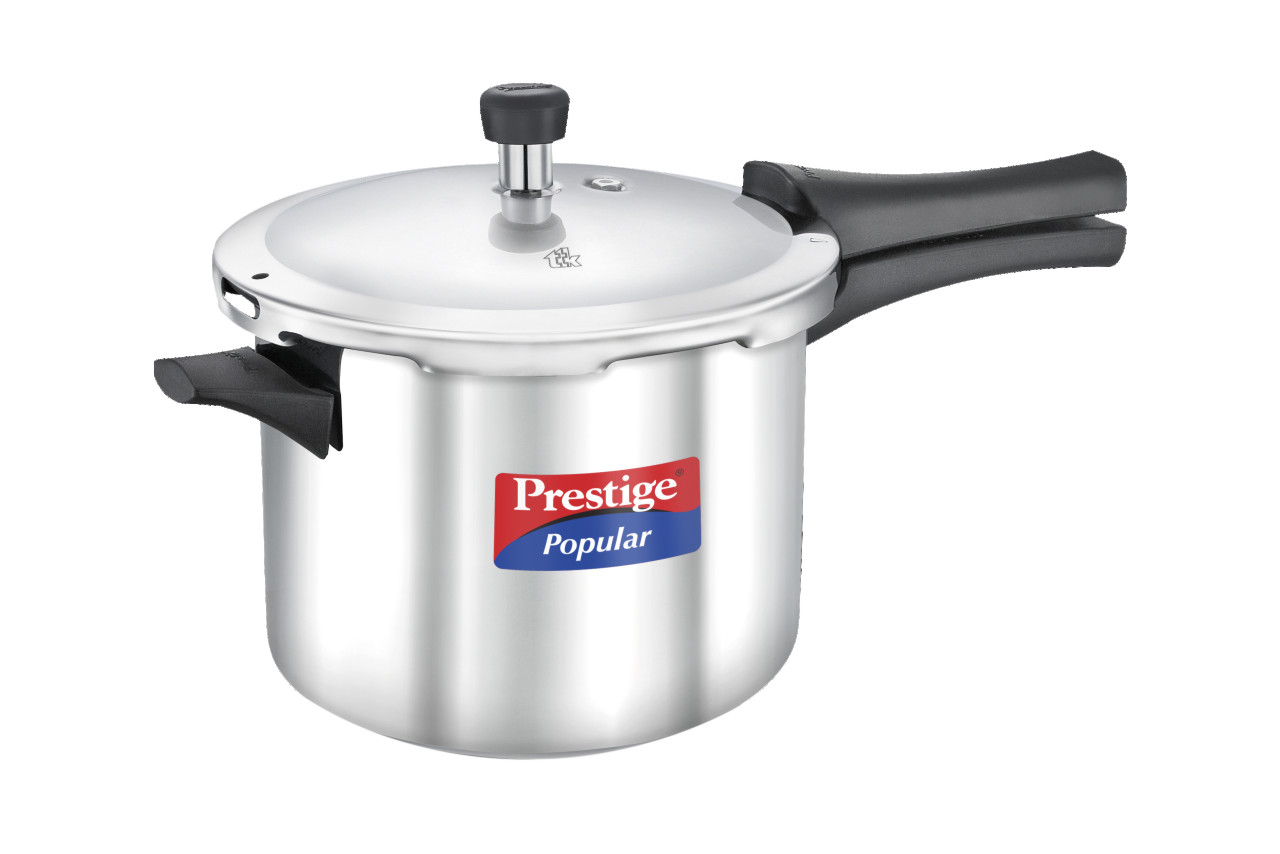 Stainless steel prestige popular 5 ltr cooker
