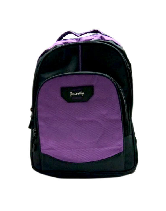 HS VALENTEENO 01-BLACK/PURPLE Backpack Bag