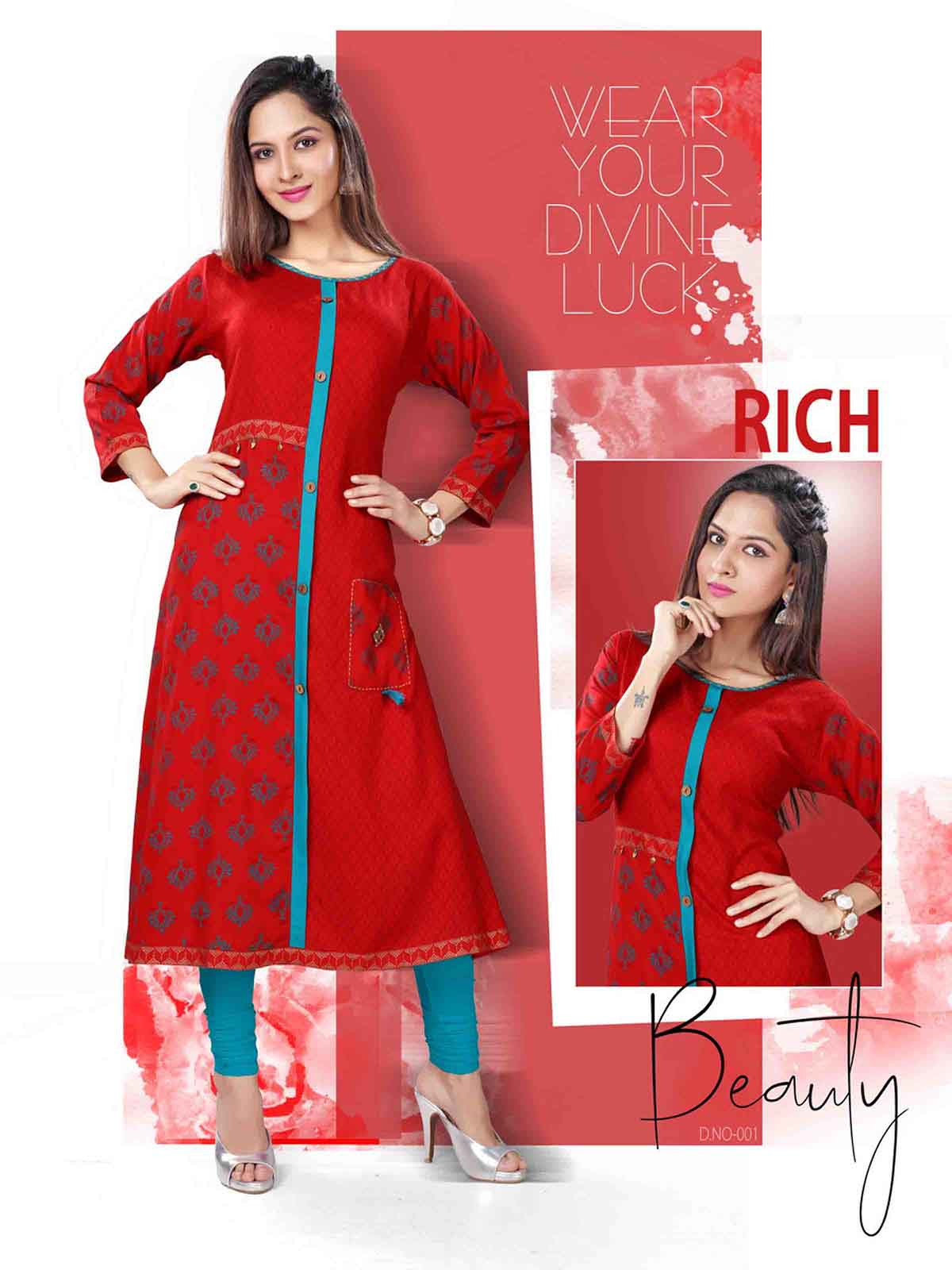 SF AUG RANGAT 2019-D NO 001 WMN KURTI