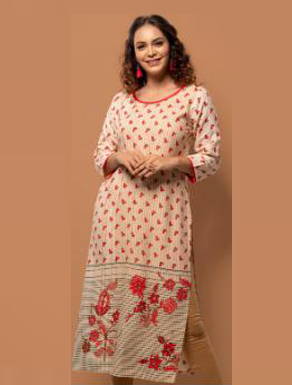 SUF SEP RAPID 2019-D NO 3000 WOMEN KURTI