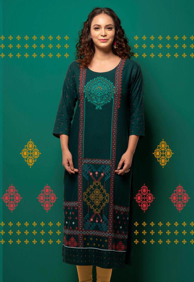 SUF SEP RAPID 2019-D NO 3003 WOMEN KURTI