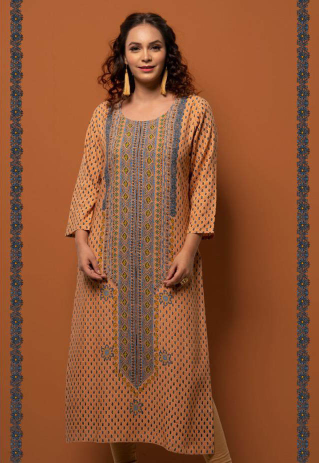 SUF SEP RAPID 2019-D NO 3006 WOMEN KURTI