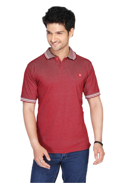 RE FPT 1-BLOOD RED POLO T SHIRT