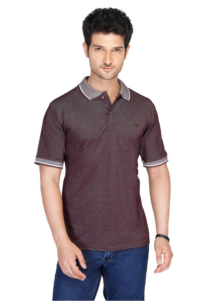 RE FPT 1-WINE POLO T SHIRT