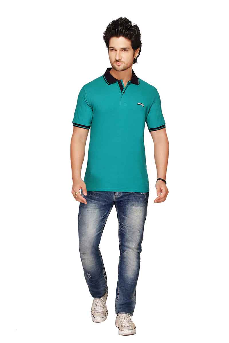 RE FPT 2-RAMA GREEN 19 POLO T SHIRT