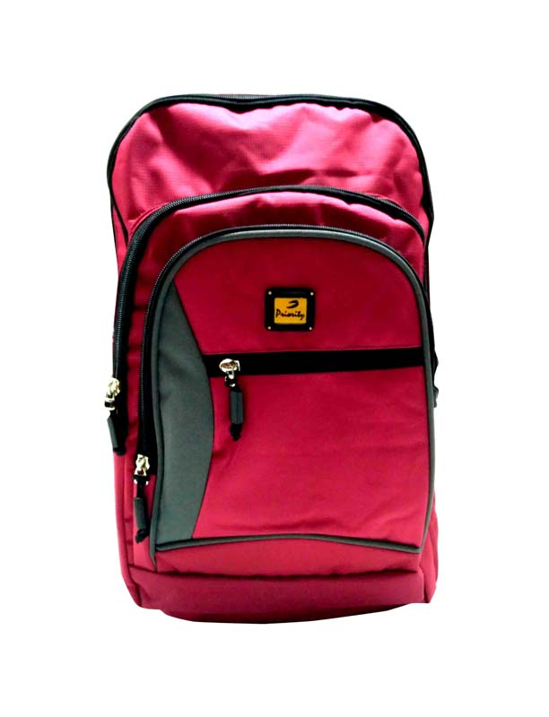 HS HUNDRED 01-RED/GRAY Backpack Bag