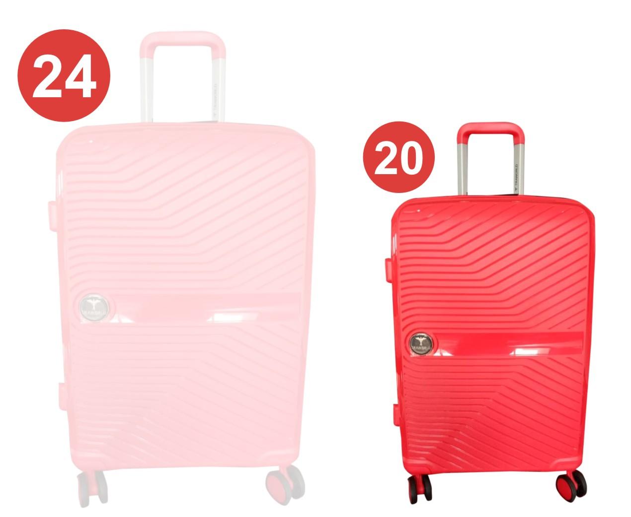 """TB FEB REMORA 20"""" 2020-RED 20""""-TRAVEL BAG"""