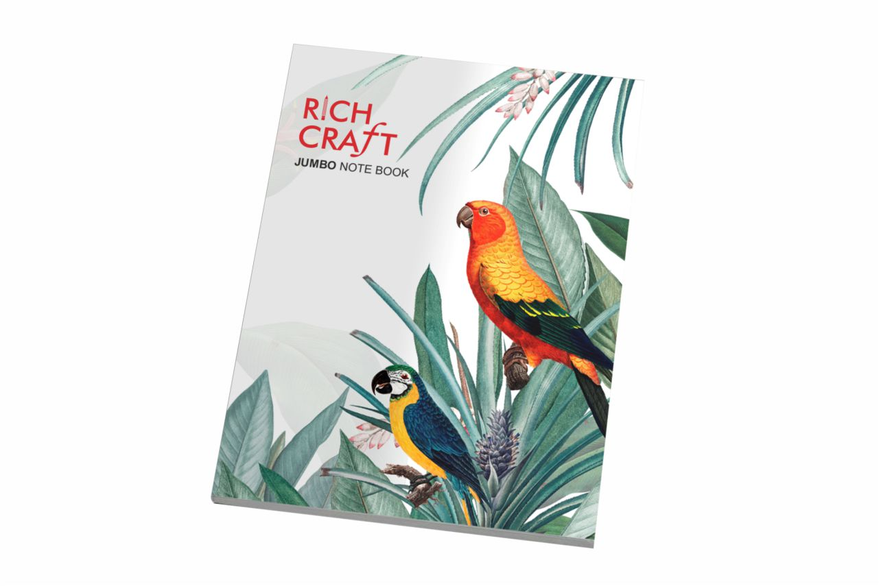 Rich Craft Jumbo Note Book Four Line