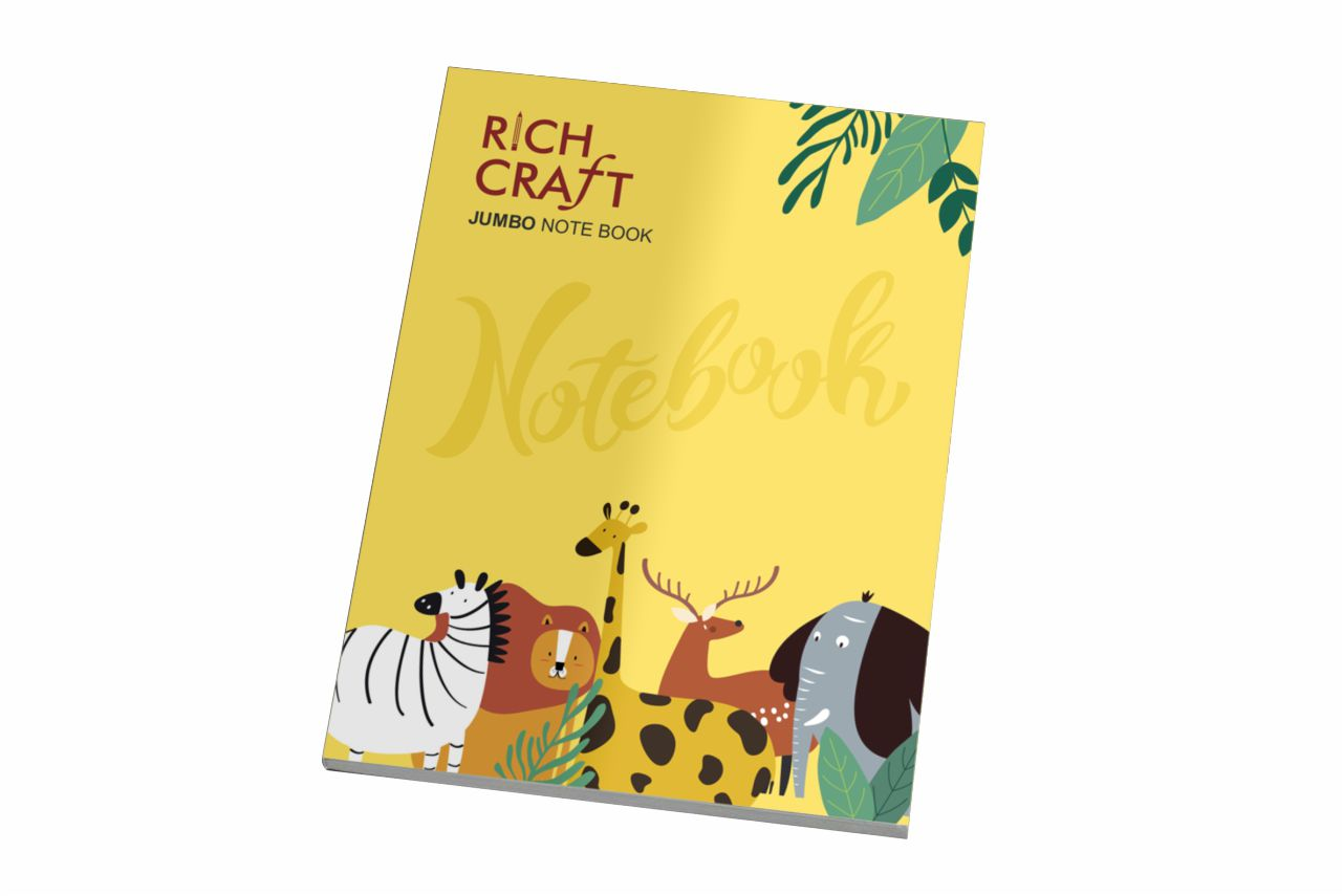 Rich Craft Jumbo Note Book Single Line