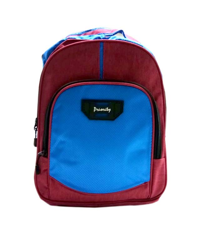 HS VALENTEENO 01-MAROON/BLUE Backpack Bag