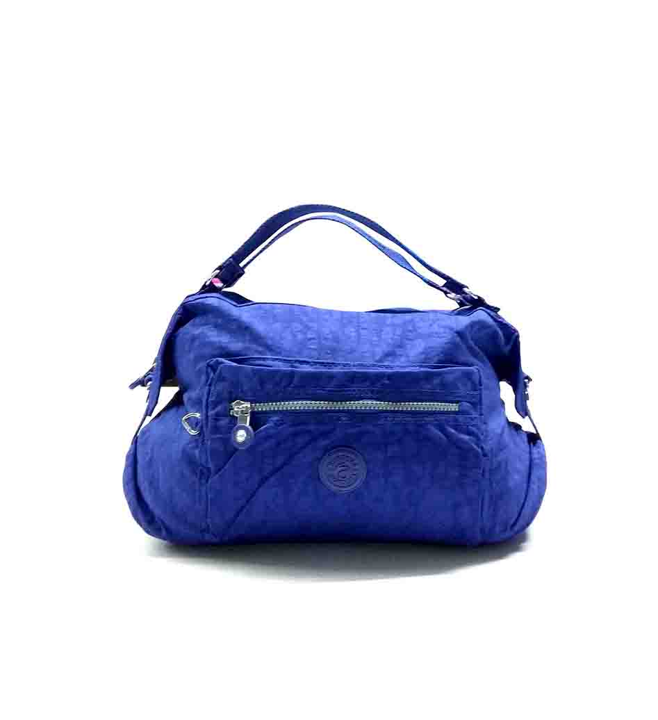 WHB SARA 06-BLUE-WOMEN HANDBAG