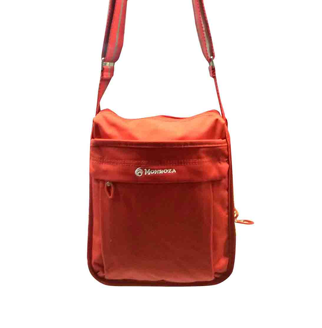 WHB SARA 07-ORANGE-HANDBAG