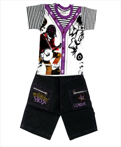 SG BABA - Violet Kid's Baba Suit