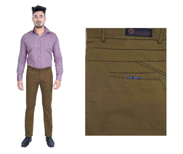 FSPL UTD MIX 5-L  MAHENDI CASUAL TROUSER