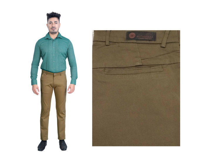 FSPL UTD MIX 6-MAHENDI CASUAL TROUSER
