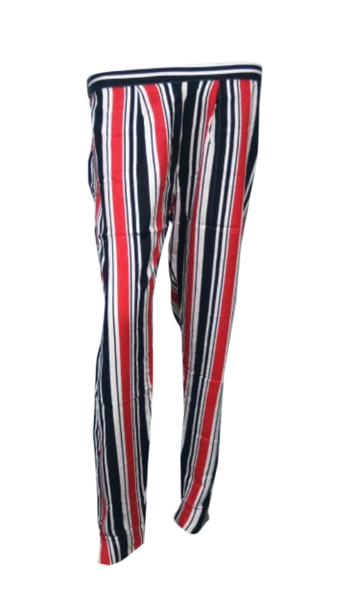 SOMAYA D NO 9-BLACK RED WMN PANT