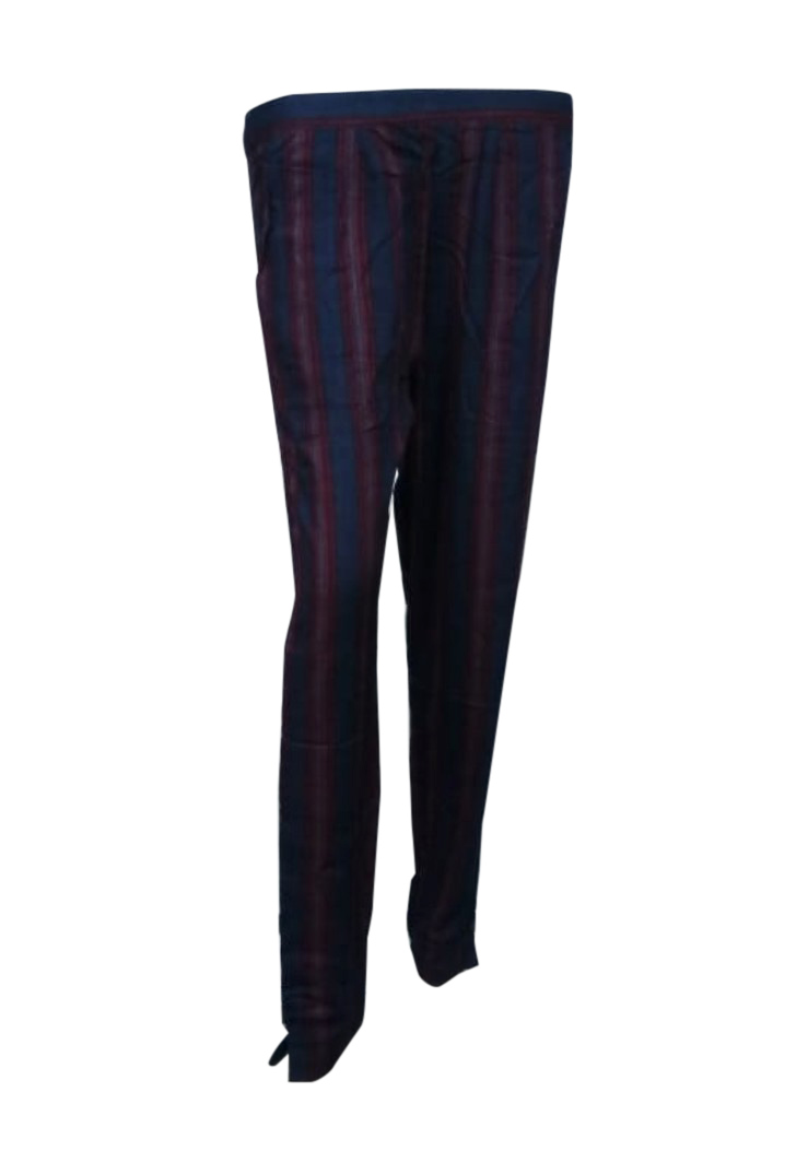 SOMAYA D NO 12-NAVY RED WMN PANT