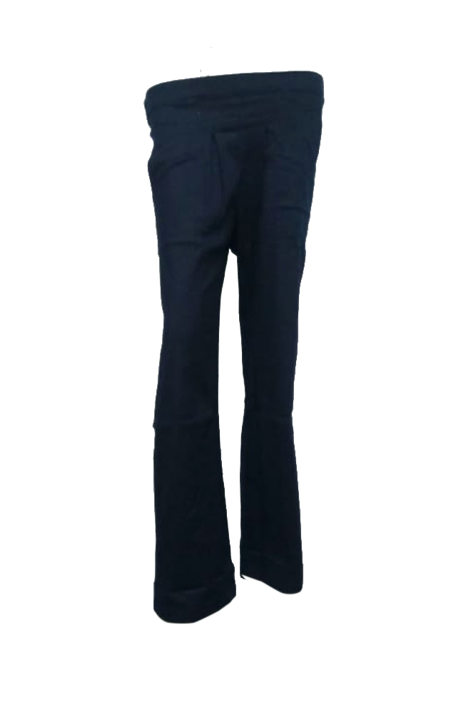 SOMAYA D NO 13-DARK NAVY WMN PANT