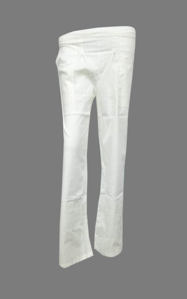 SOMAYA D NO 13-WHITE WMN PANT