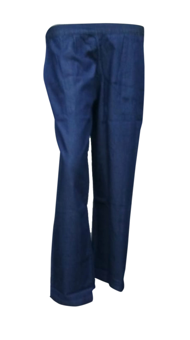 SOMAYA D NO 15-DARK BLUE WMN PANT