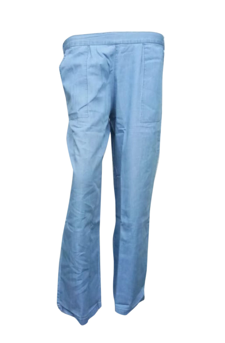 SOMAYA D NO 15-LIGHT BLUE WMN PANT