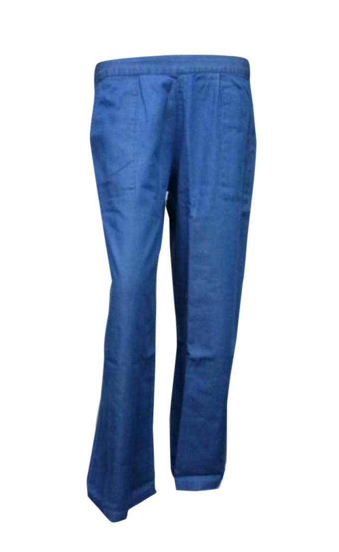 SOMAYA D NO 15-MID BLUE WMN PANT