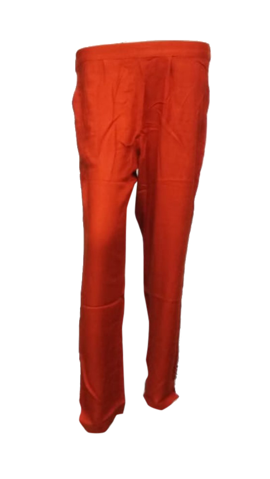 SOMAYA D NO 16-ORANGE WMN PANT