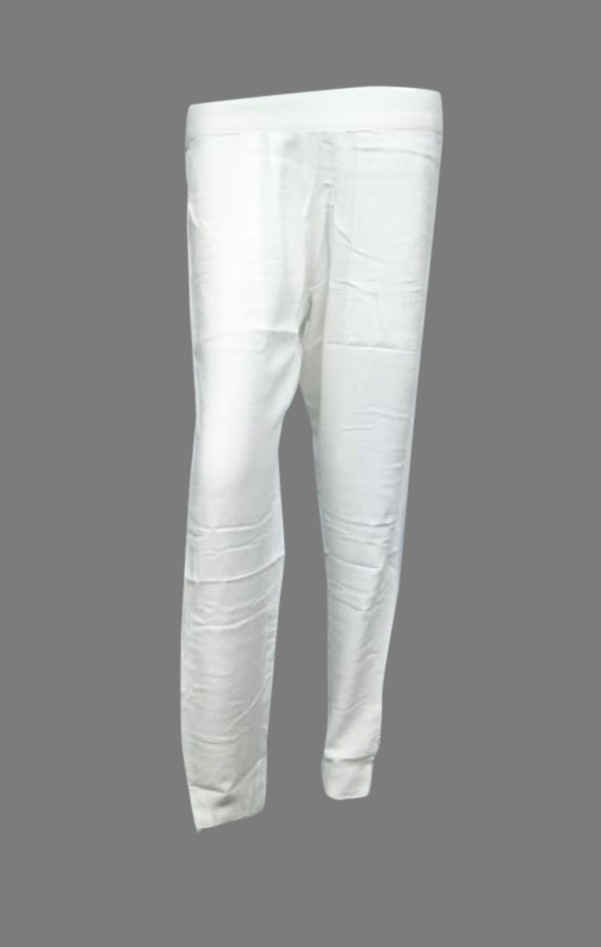 SOMAYA D NO 16-WHITE WMN PANT