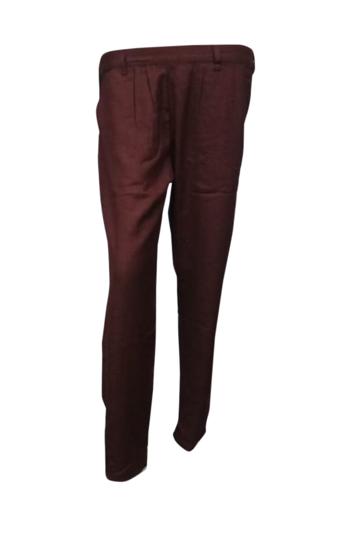 SOMAYA D NO 17-BROWN WMN PANT
