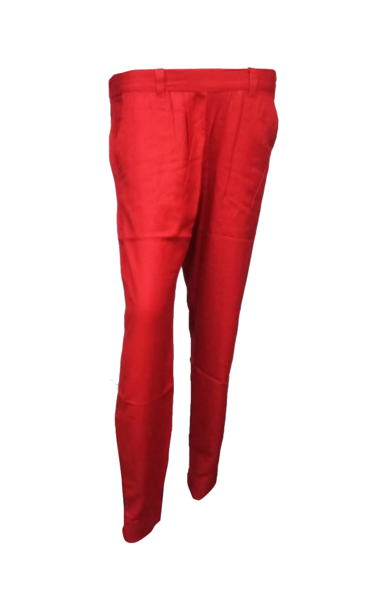 SOMAYA D NO 17-RED WMN PANT