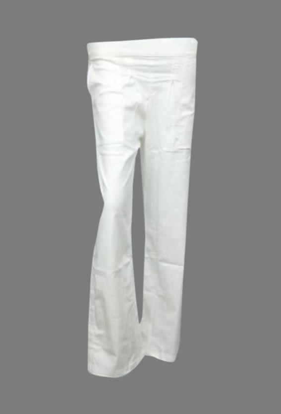SOMAYA D NO 17-WHITE WMN PANT