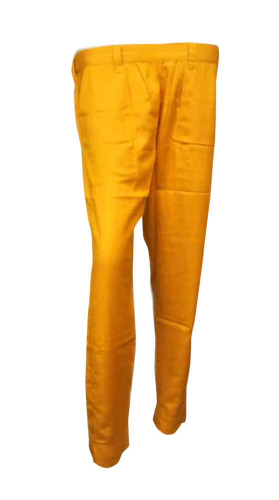 SOMAYA D NO 17-YELLOW WMN PANT