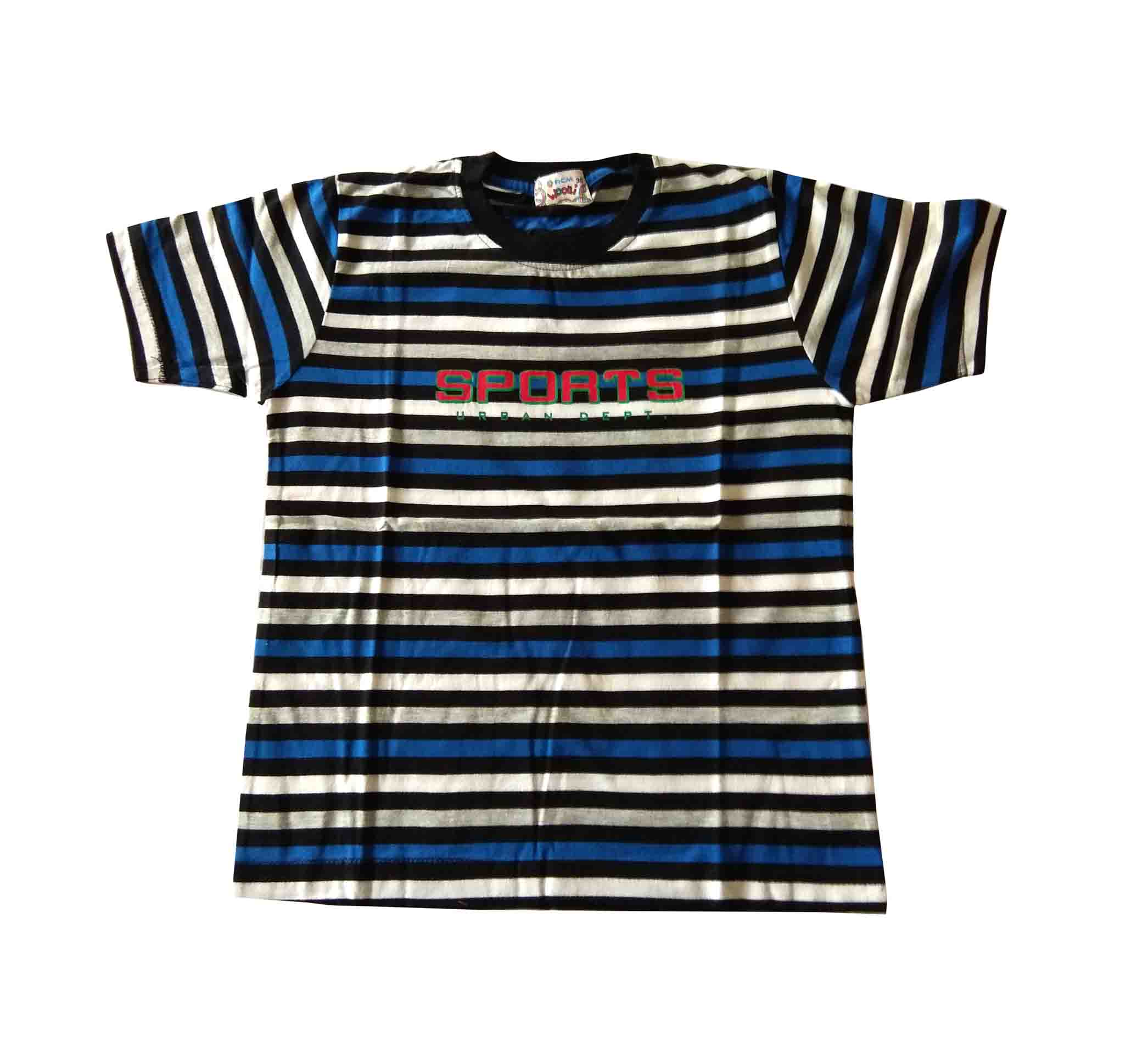 KT SPORTS URBAN -BLUE LINE KIDS T SHIRT