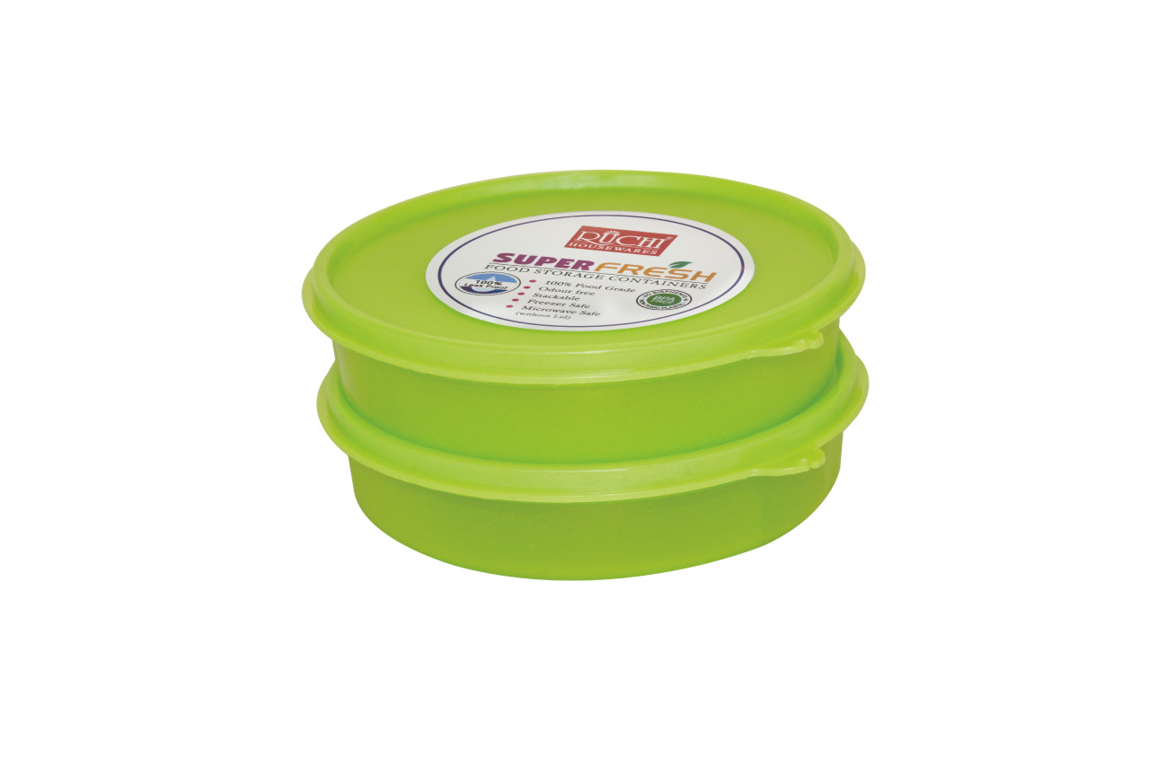 FOOD CONTAINER SET 500 ML (SET OF 2) SHADE-GREEN