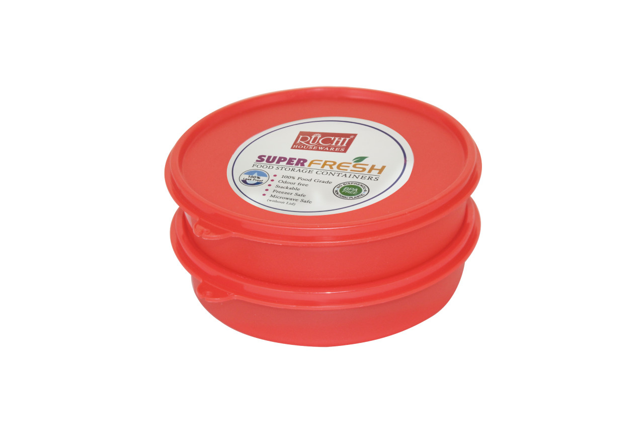 FOOD CONTAINER SET 500 ML (SET OF 2) SHADE-RED
