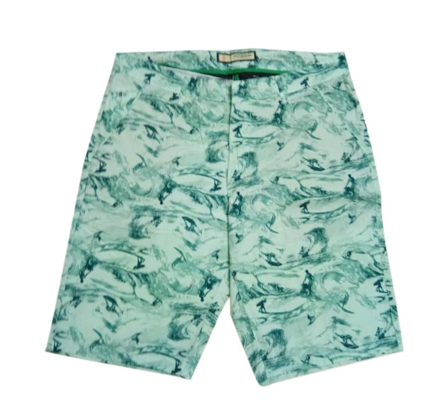 UTD SURFING CANDY-GREEN-MN SHORTS